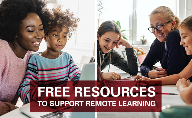 Free Resources to support remote learning